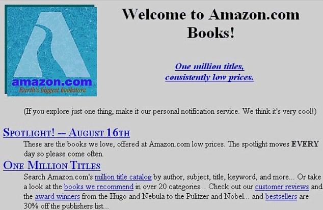amazon legacy site