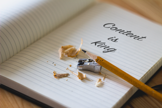 Content is King Journal