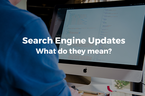 Search Engine Updates.  What do they mean?